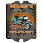 Personalized Vintage Biker Bar Sign