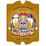 Personalized Vintage English Bulldog Pub Sign