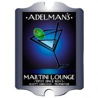 Personalized Vintage 'After-Hours' Martini Lounge Sign