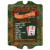 Personalized Vintage 'House of Cards' Pub Sign