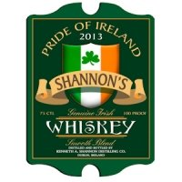 Vintage Personalized Irish Whiskey Pub Sign
