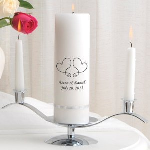 Premier Personalized Unity Candle Set (Many Designs) image