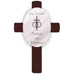 Personalized Wedding Crosses image