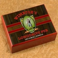 Personalized Long Drive Cigar Humidor