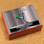 Personalized Martini NY Swank Cigar Humidor