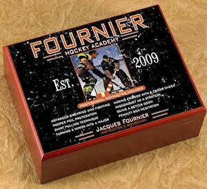 Personalized Hockey Academy Humidor image