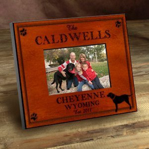 Personalized Cabin Series Picture Frames (9 Designs) image