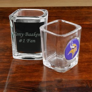 Personalized NFL Shot Glass image