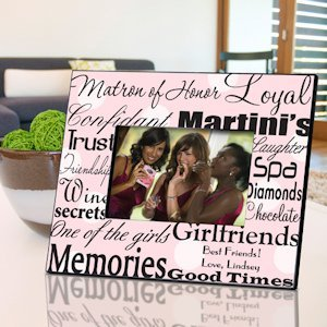 Personalized Matron of Honor Frames (7 colors) image