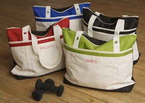 Personalized Fitness Fun Tote Bag image