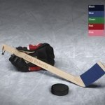 Personalized Mini Hockey Stick