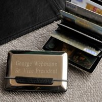 Personalized Executive Card Case