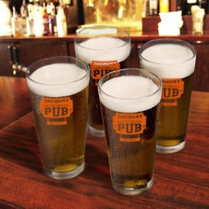 Personalized Pub Glass Set (2 Designs) image