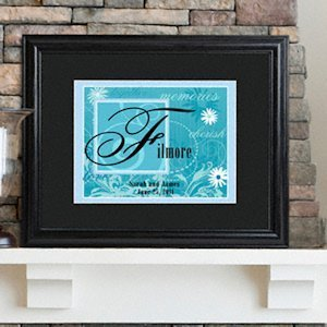 Personalized Couple's Name Sign (6 Colors) image