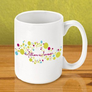 Personalized Gleeful Coffee Mugs image
