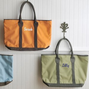Countryside Personalized Tote Bag - 3 Colors image