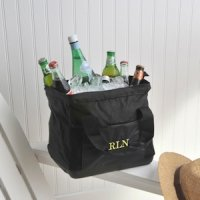 Large Mouth Personalized Cooler Bags (15 Thread Colors)