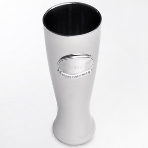 Gunmetal Pilsner with Personalized Pewter Medallion image