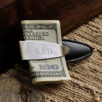 Personalized Arrowhead Design Money Clip
