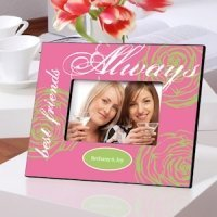 Personalized Best Friends Always Frame (3 Colors)