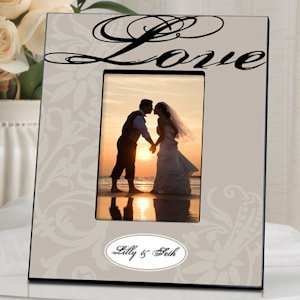 Personalized Love Picture Frame (3 Designs) image