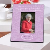 Personalized In Our Hearts Memorial Frames (2 Colors)