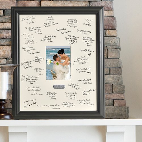 Wedding Guest Book Alternatives | Signature Frames & Platters ...
