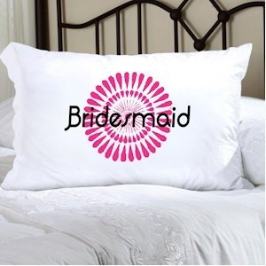 Personalized Bouncy Bouquet Pillow Case image