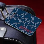 Personalized Jet Setter Navy Luggage Tag