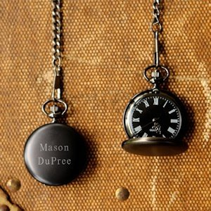 Personalized Midnight Pocket Watch image