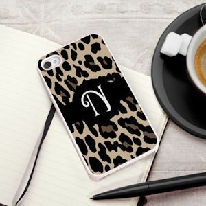 Personalized Luscious Leopard iPhone Case image