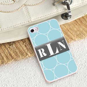 Personalized Rings iPhone Case image