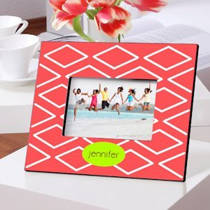 Color Brights Geometric Design Picture Frames (9 Designs) image