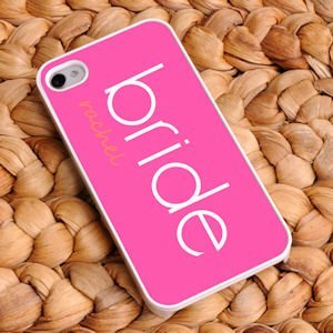 Personalized Bride iPhone Cases (3 Designs) image