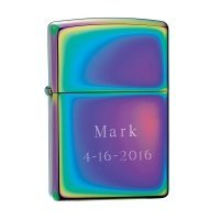 Personalized Zippo Spectrum Lighter