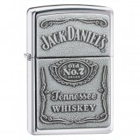 Personalized Jack Daniels Emblem Zippo Lighter