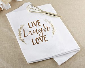 Live Laugh Love Whisk and Tea Towel image
