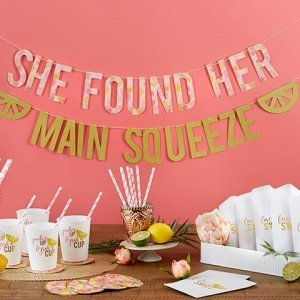 She Found Her Main Squeeze 49 piece Party Kit image