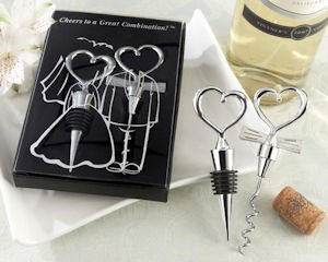 Cheers to a Great Combination Wine Utensil Gift Set image