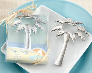Tropical Summer Breeze Palm Tree Bottle Opener Favors image