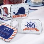 Personalized Nautical Birthday Bottle Openers