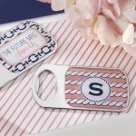 Personalized Nautical Bridal Shower Bottle Openers