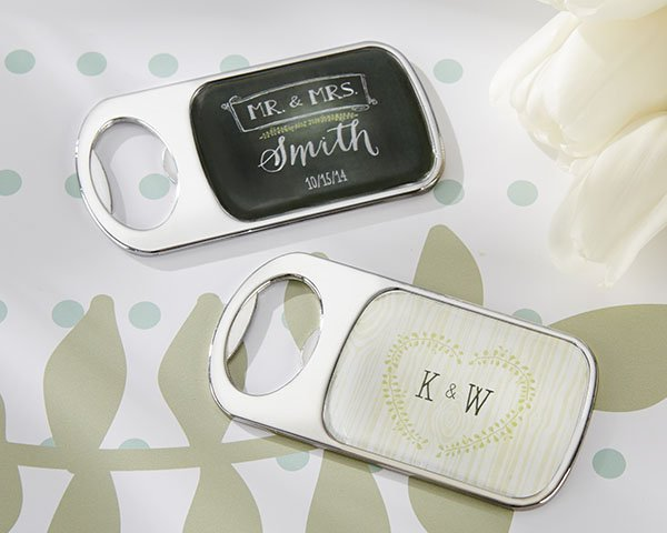 rustic themed personalized bottle openers. Black Bedroom Furniture Sets. Home Design Ideas