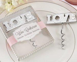 Love Corkscrew Favor image