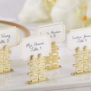 Double Happiness Place Card Holders (Set of 6) image