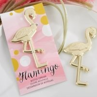 Fancy and Feathered Flamingo Bottle Opener