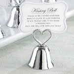 Kissing Bells Wedding Place Card Holders (Set of 24)