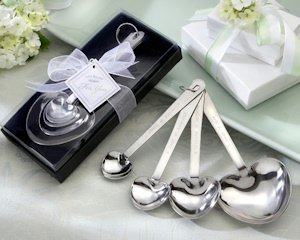 'Love Beyond Measure' Heart Measuring Spoons image