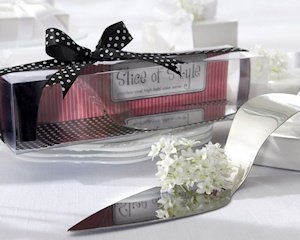 Stainless Steel High Heel Cake Server image