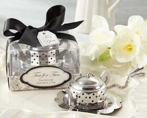Teapot Shaped Tea Infuser Party Favors image